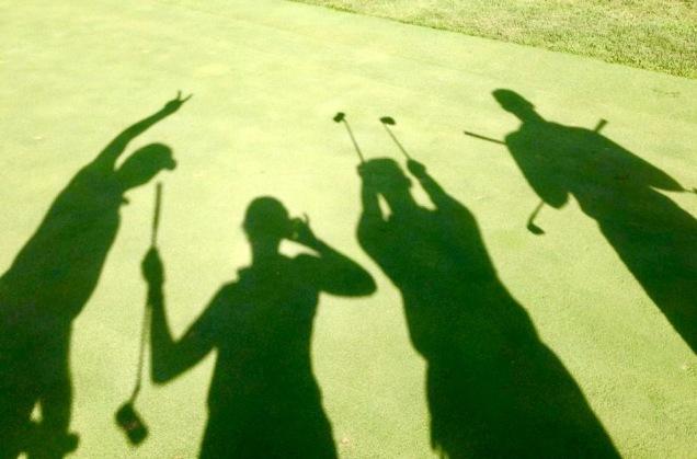 fun shadow golf
