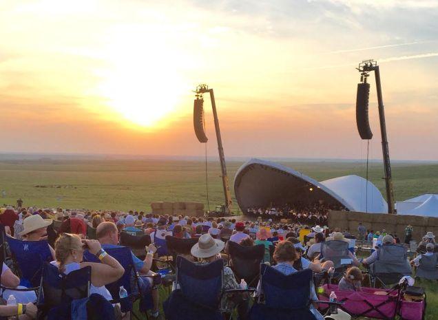symphony sunset
