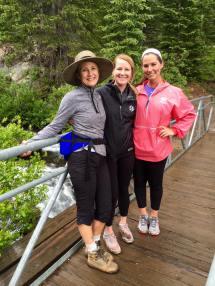 McCullough Gulch hike girls