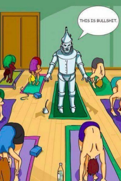 yoga tin man