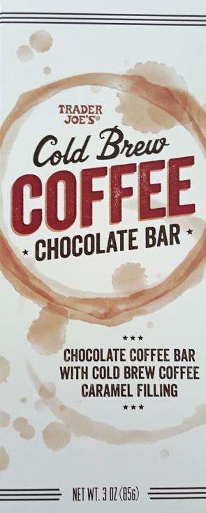 coffee:choc bar