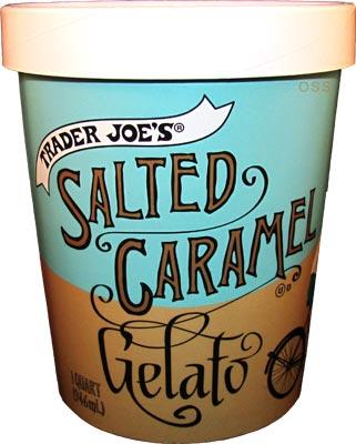nick trader joes salted caramel gelato quart