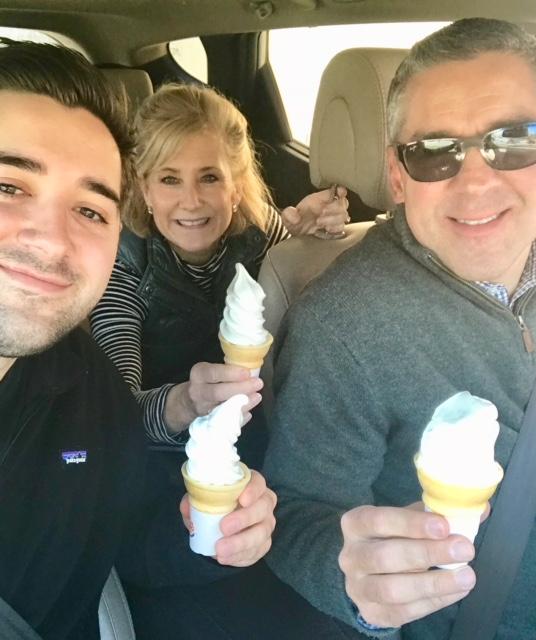 Birth of the Road Trip Ice Cream Challenge